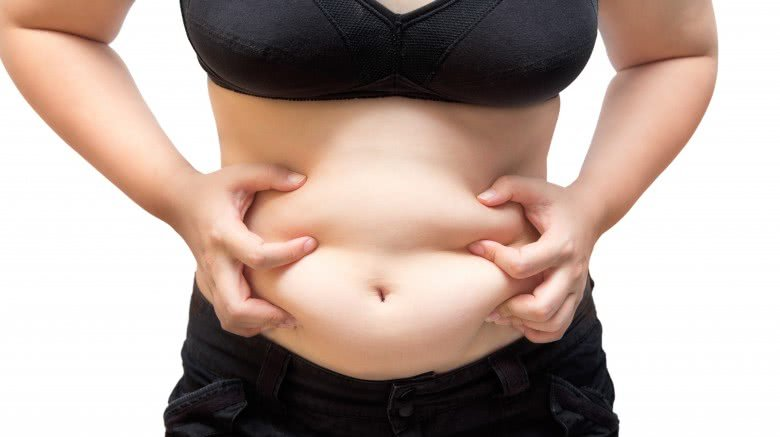 overweight stomach fat
