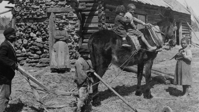african american farming family