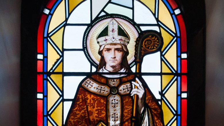 saint malachy stained glass