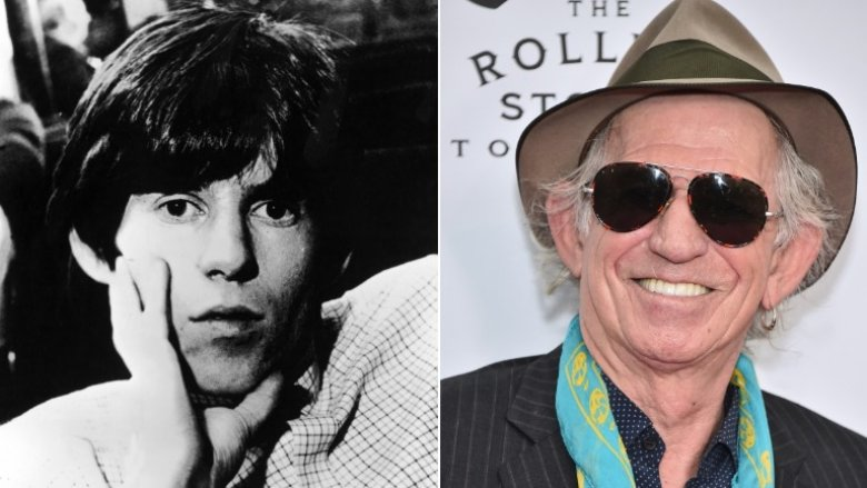 keith richards then now