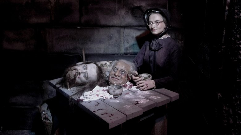 Madame Tussauds Horror Room London