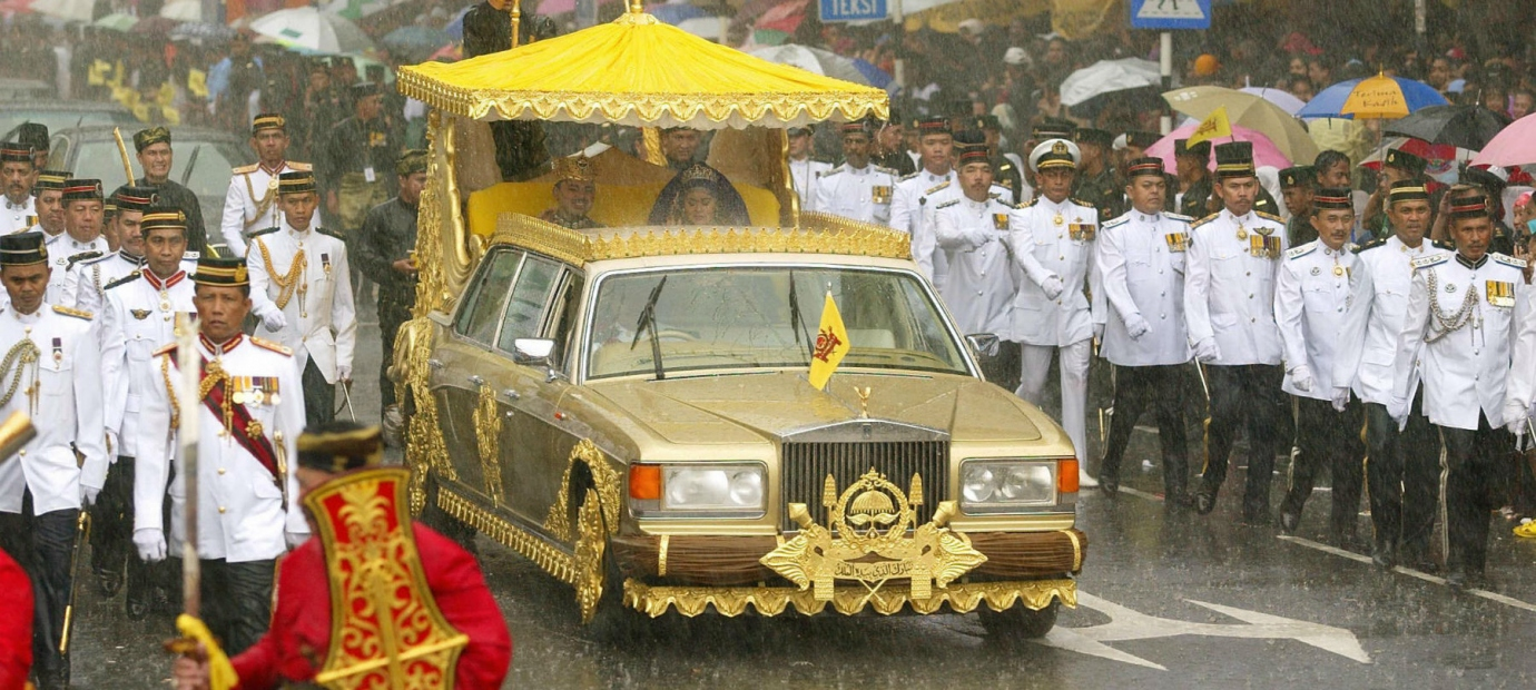 Image result for Sultan of Brunei's Silver Spur limo