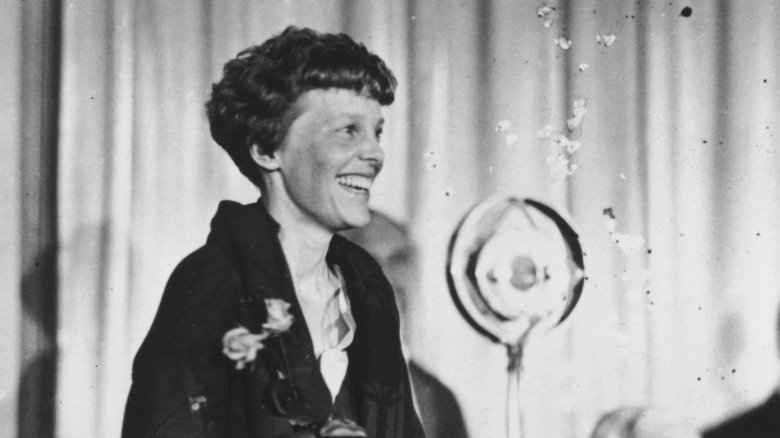 the theory behind the disappearance of amelia earhart Elusive truth behind amelia earhart's disappearance  on the theory for several years that earhart crash-landed the plane on the tiny island of nikumaroro (formerly gardner island.