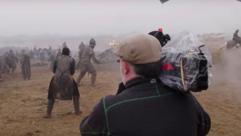 Filming Game of Thrones