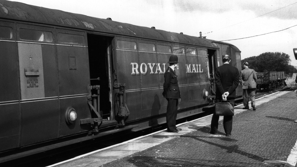 Police investigating the Great Train Robbery
