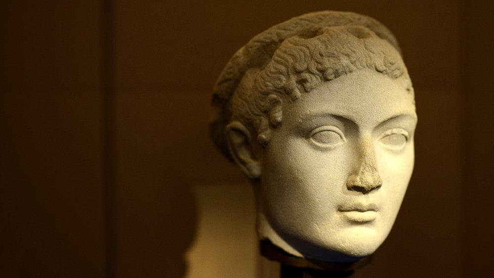 A bust depicting Cleopatra VII