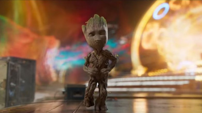 baby groot marvel guardians galaxy
