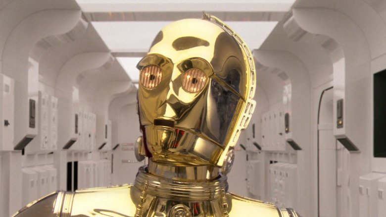 C-3PO in Star Wars: Episode IV -- A New Hope