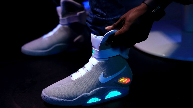 nike mag shoes self-lacing back to the future