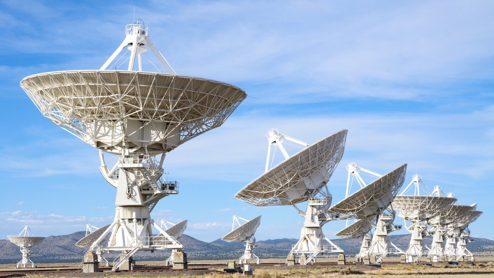 Very Large Array, SETI, Aliens