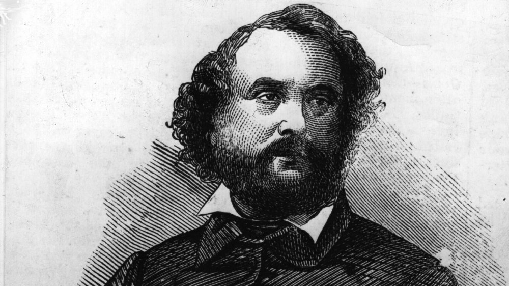 Drawing of Samuel Colt
