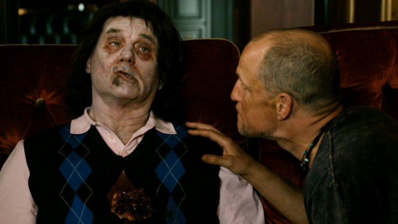 Bill Murray and Woody Harrelson in Zombieland
