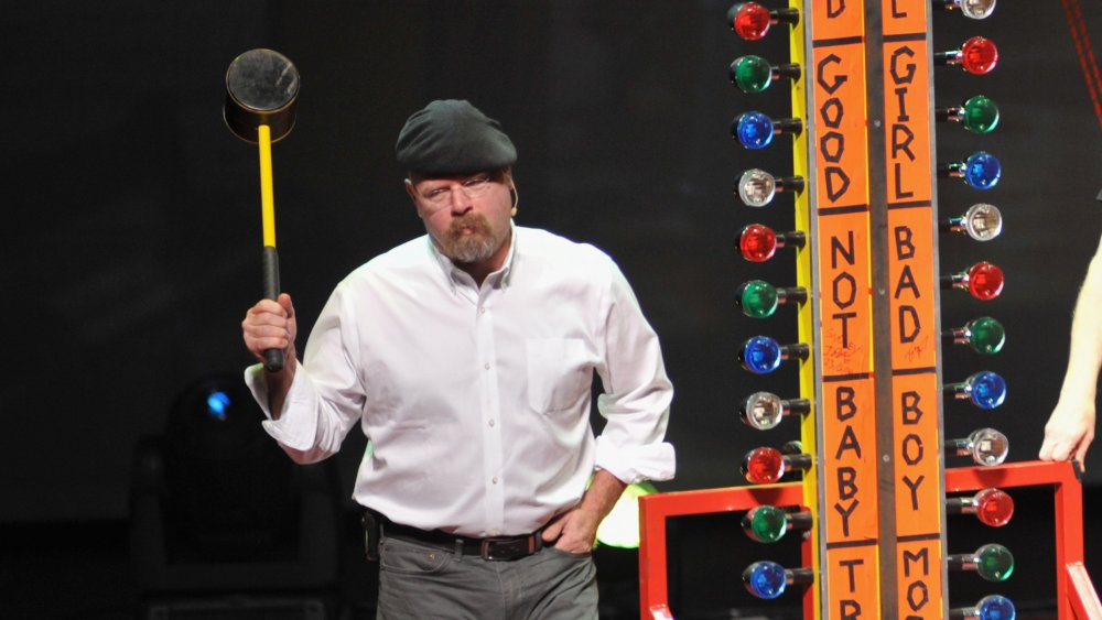 How much money did Jamie Hyneman make from MythBusters?