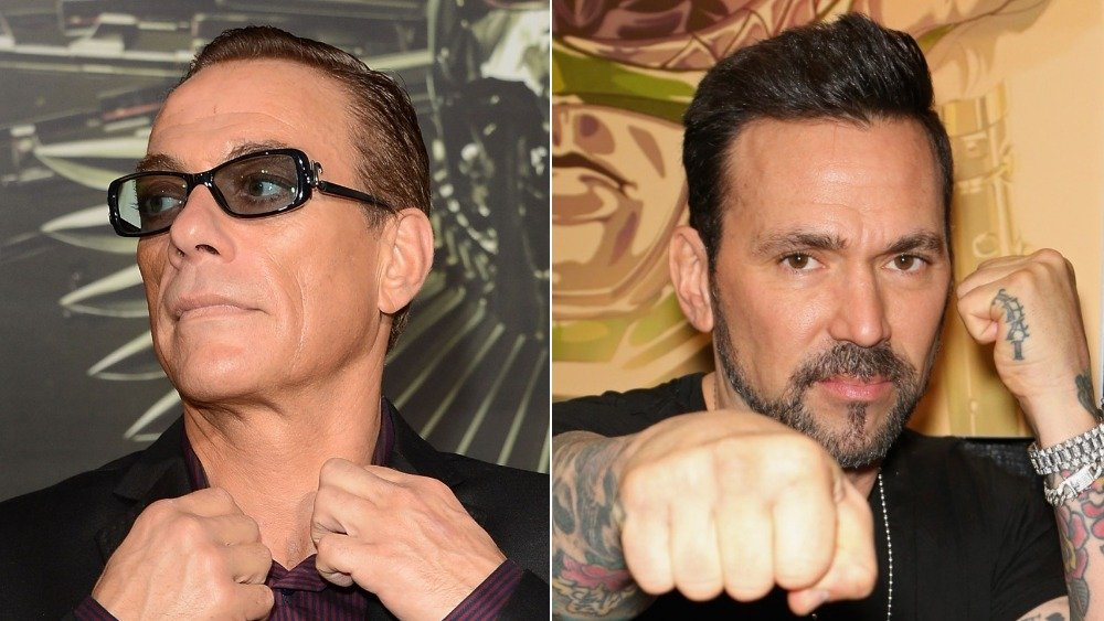 Jean-Claude Van Damme and Jason David Frank