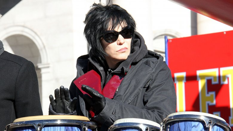 Joan Jett at the Macy's Thanksgiving Day parade