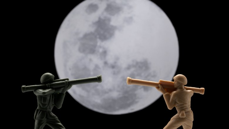 army on moon