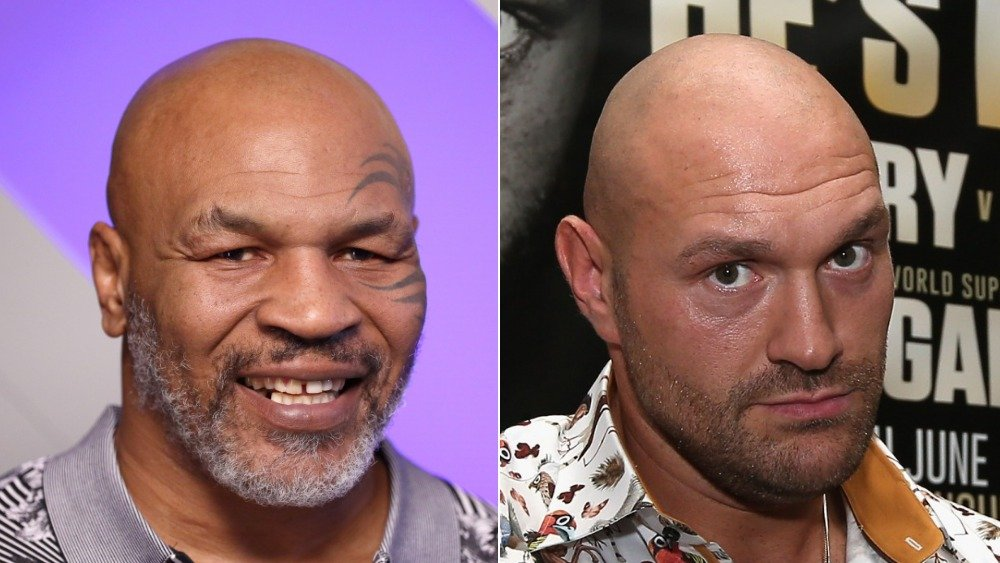 Mike Tyson and Tyson Fury
