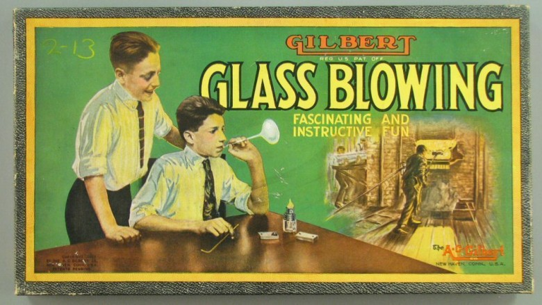 The Gilbert Glass Blowing Kit for Boys