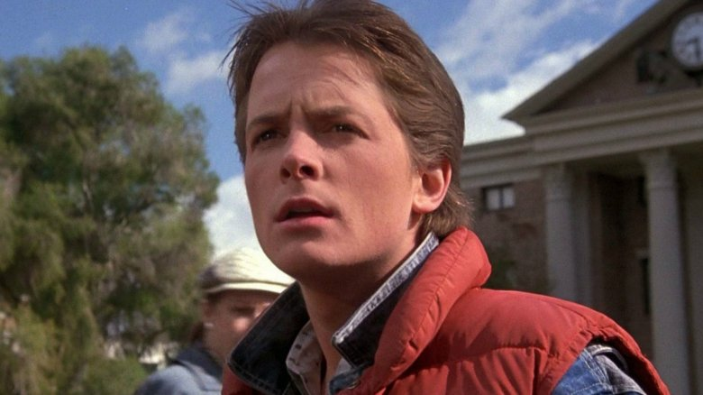 Back to the future michael j fox