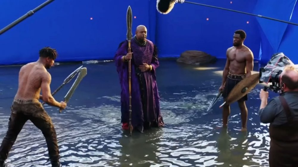 Black Panther MCU set photo