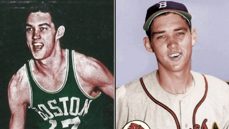 Gene Conley baseball and basketball cards