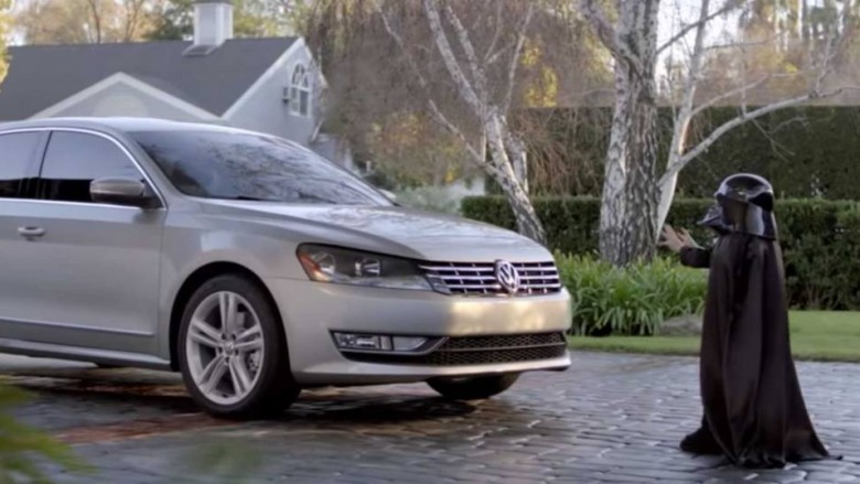 darth vader vw super bowl commercial