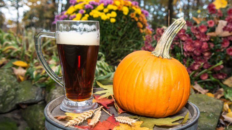 beer, pumpkin