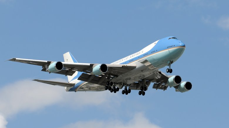 Air Force One airborne
