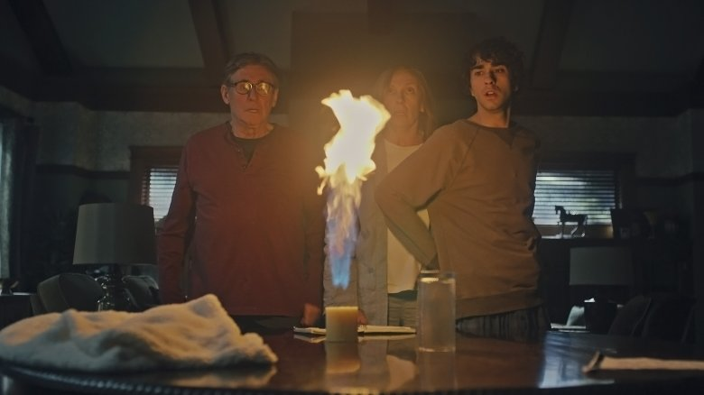 gabriel byrne toni collette and alex wolff in hereditary