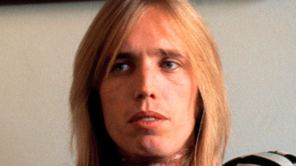 A close-up shot of Tom Petty