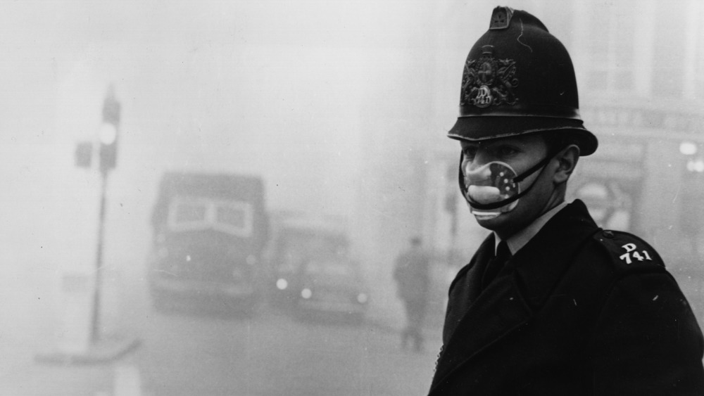 Constable during London Smog