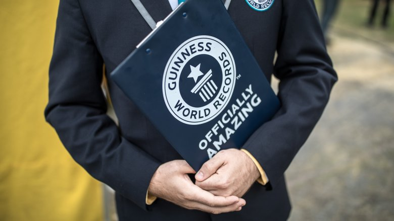 Most bizarre things people hold world records for