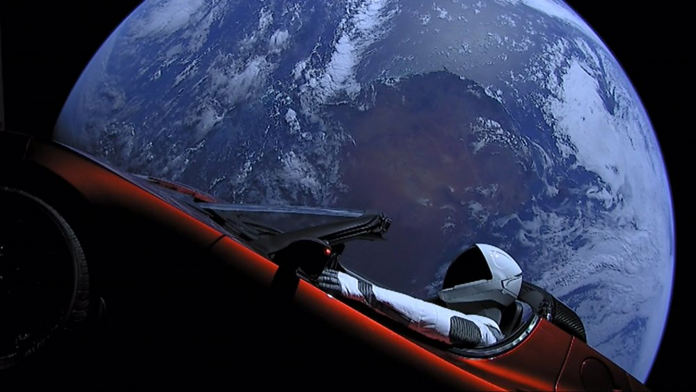 The real reason a Tesla was launched into space