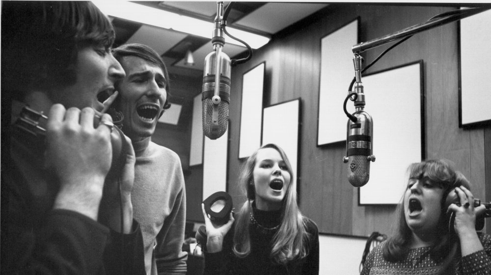 Mamas and Papas in the studio