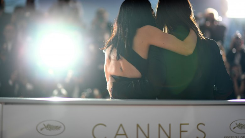 Red carpet at Cannes