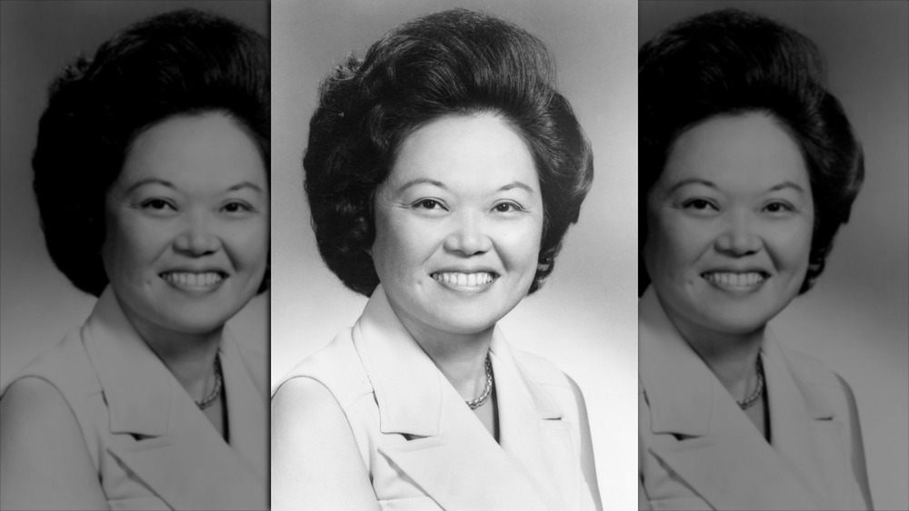 Portrait of Patsy Mink