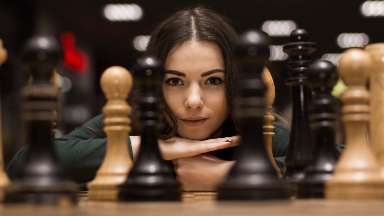 woman chess