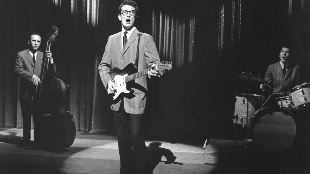 buddy holly performing