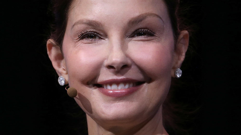 Actor Ashley Judd smiling