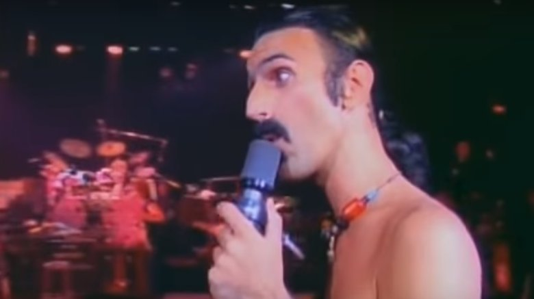 Frank Zappa performing Bobby Brown (Goes Down)
