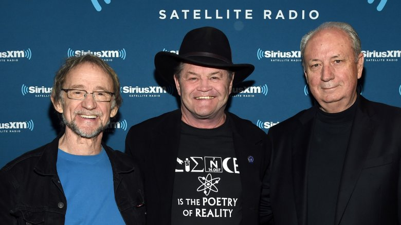 Peter Tork, Micky Dolenz, and Michael Nesmith