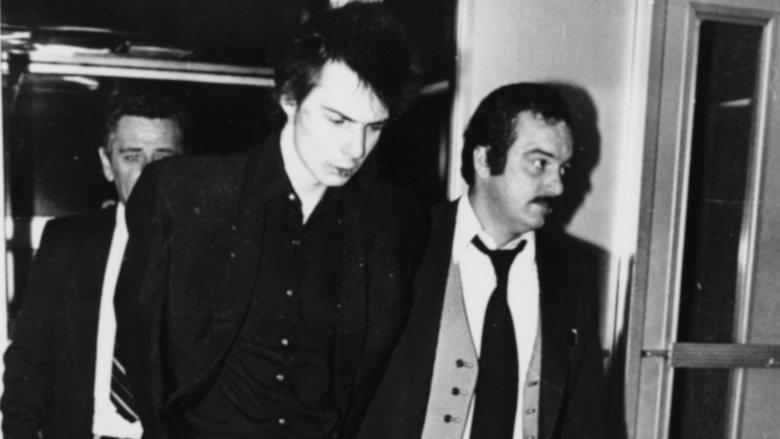 sid vicious arrested
