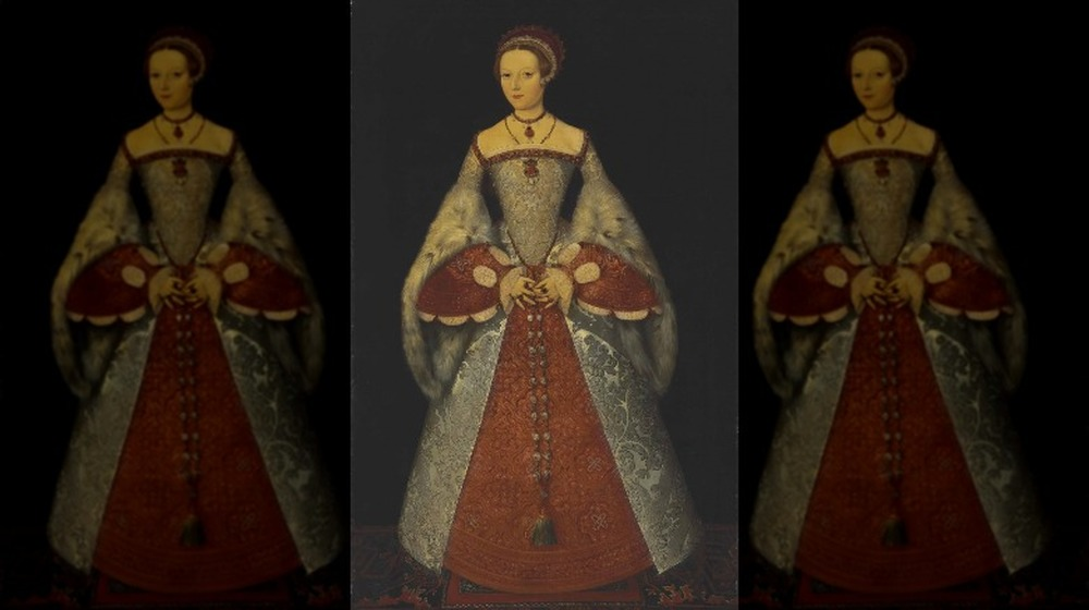 Reported to be a portrait of Katherine Parr