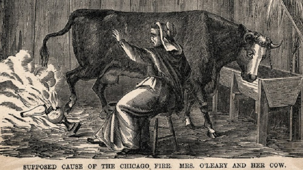 Mrs. O'Leary and Cow
