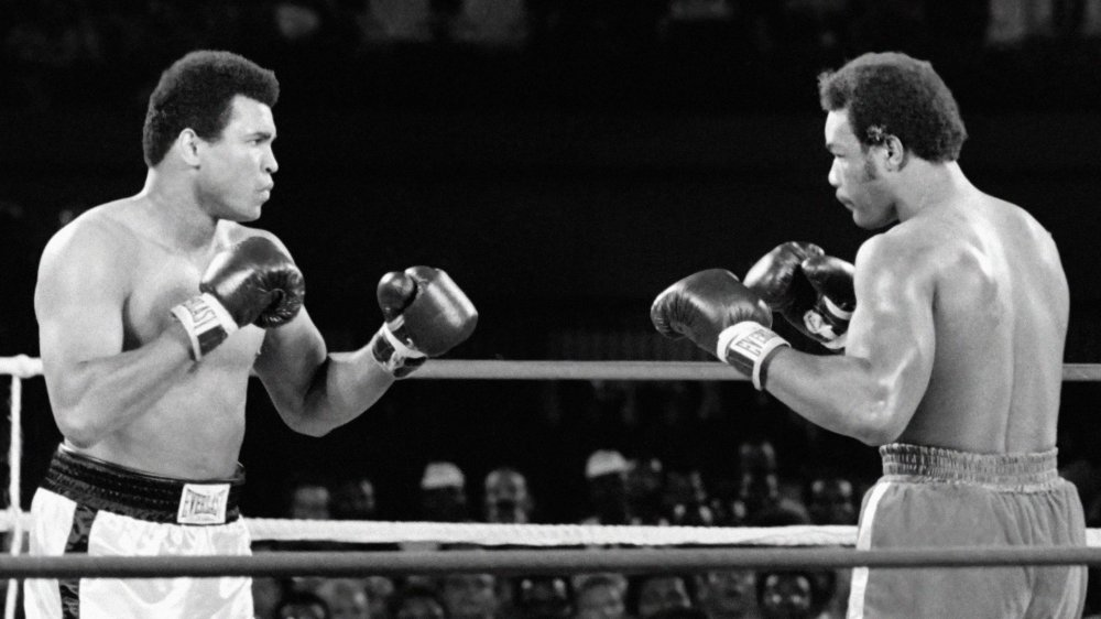 Muhammad Ali and George Foreman Rumble in the Jungle