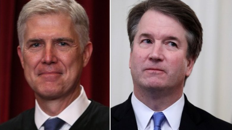 Neil Gorsuch and Brett Kavanaugh