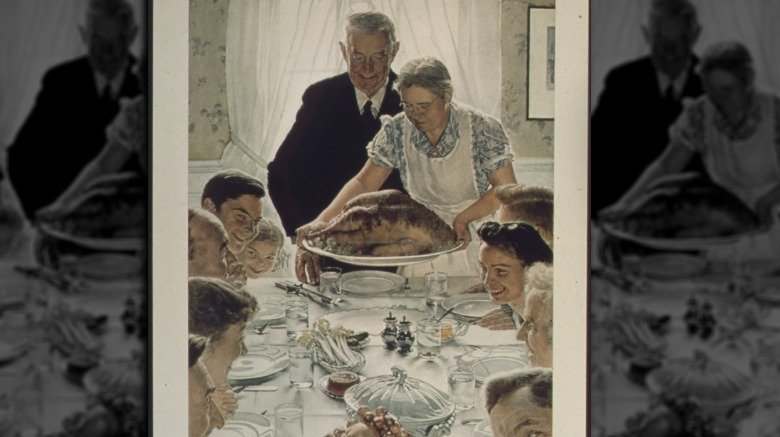 Norman Rockwell's Freedom from Want