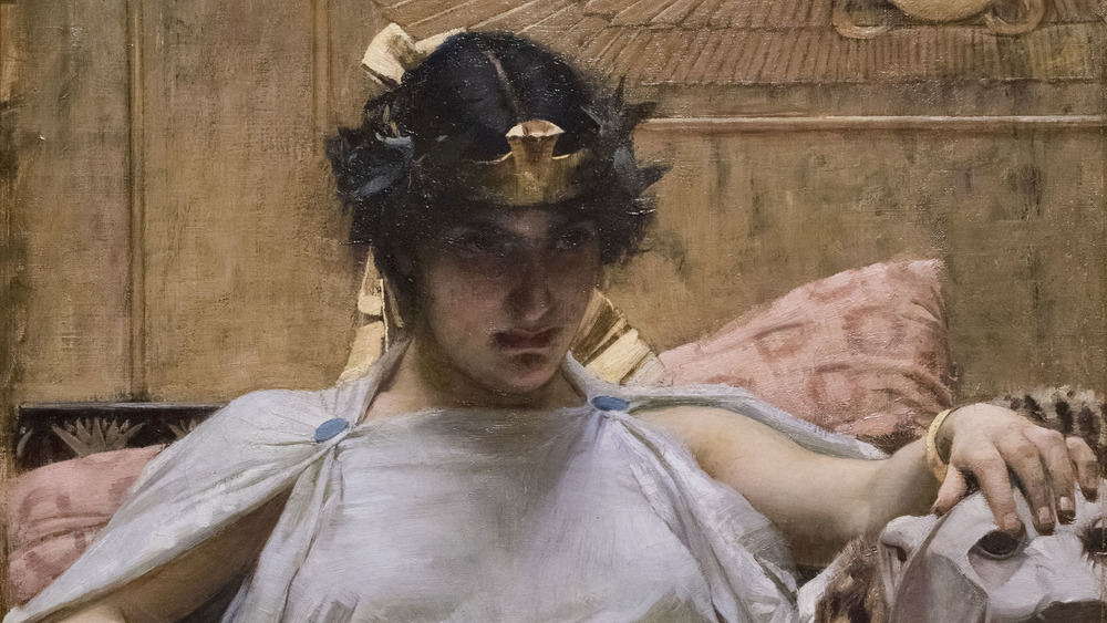Portrait of Cleopatra VII by John William Waterhouse, 1887