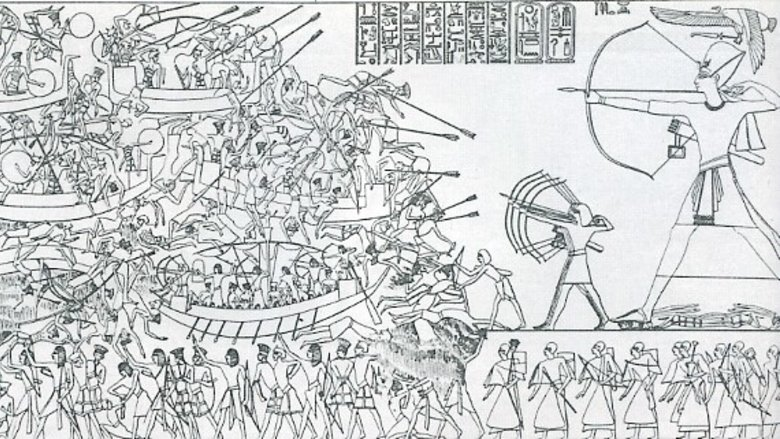 sea peoples ancient egypt