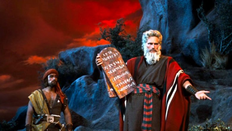 ten commandments charlton heston
